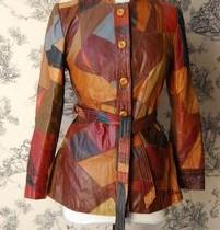 veste vintage cuir ladylovevinatge