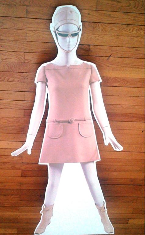 La Petite Robe Blanche Marche De La Mode Vintage